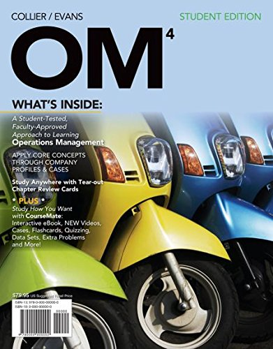 OM4      ->INSTRS.EDITION<              N/A 9781133562238 Front Cover