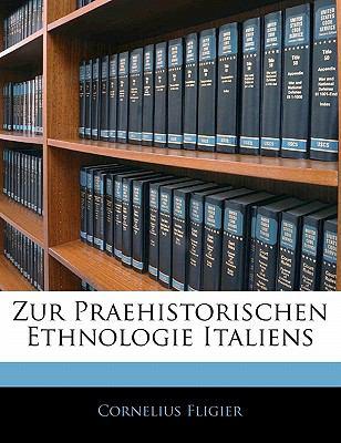 Zur Praehistorischen Ethnologie Italiens N/A edition cover