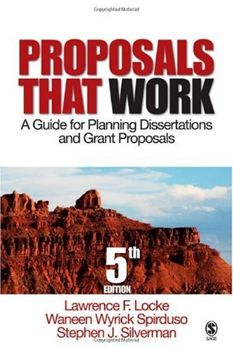 Proposals That Work A Guide for Planning Dissertations and Grant Proposals 5th 2007 (Revised) edition cover