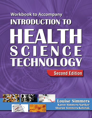 Introduction to Health Science Technology  2nd 2009 (Workbook) edition cover