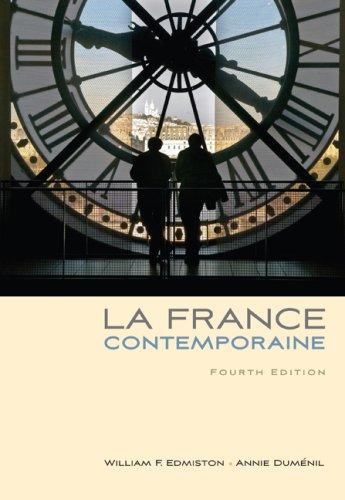 France Contemporaine  4th 2010 edition cover