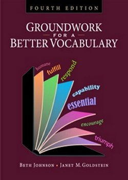 GROUNDWORK F/BETTER VOCABULARY N/A edition cover