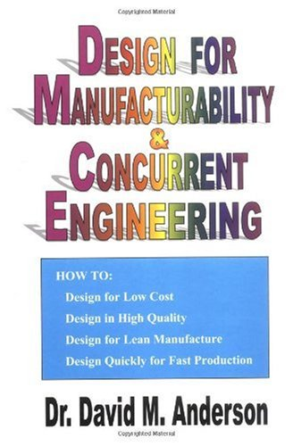 DESIGN F/MANUFACTURABILITY+CON 1st edition cover