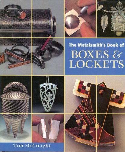 METALSMITH'S BOOK OF BOXES+LOCKETS 1st edition cover
