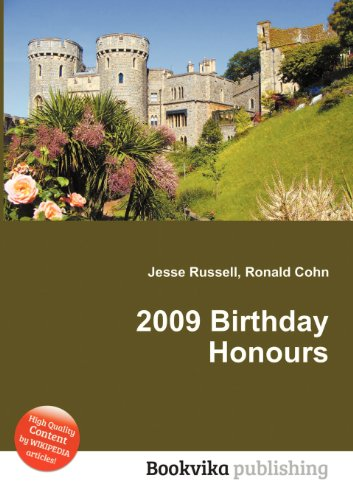 2009 Birthday Honours  0 edition cover