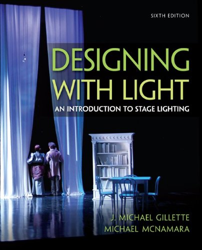 Designing with Light An Introduction to Stage Lighting 6th 2014 edition cover