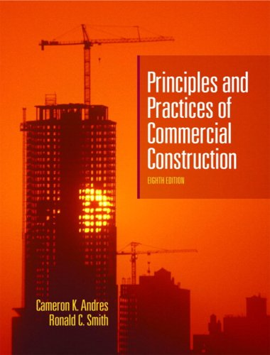 Principles and Practices of Commercial Construction  8th 2009 edition cover