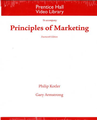 Principles of Marketing: 14th 2011 9780132167239 Front Cover