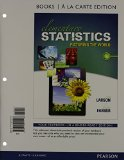 Elementary Statistics Books a la Carte Plus NEW MyStatLab with Pearson EText -- Access Card Package  6th 2015 9780133876239 Front Cover