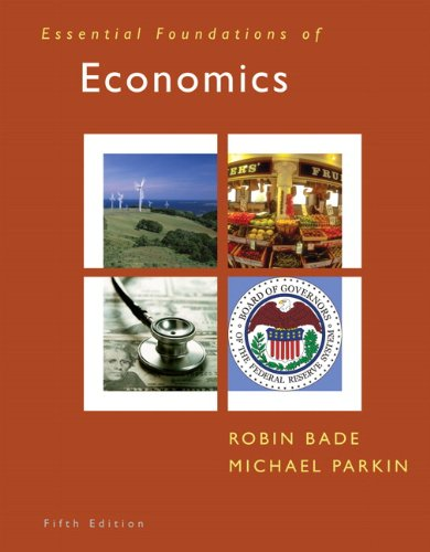 Essential Foundations of Economics  5th 2011 edition cover