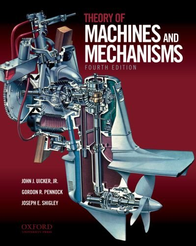 Theory of Machines and Mechanisms  4th 2010 edition cover