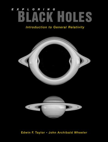 Exploring Black Holes Introduction to General Relativity  2001 edition cover
