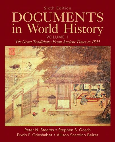 Documents in World History, Volume 1  6th 2012 (Revised) edition cover