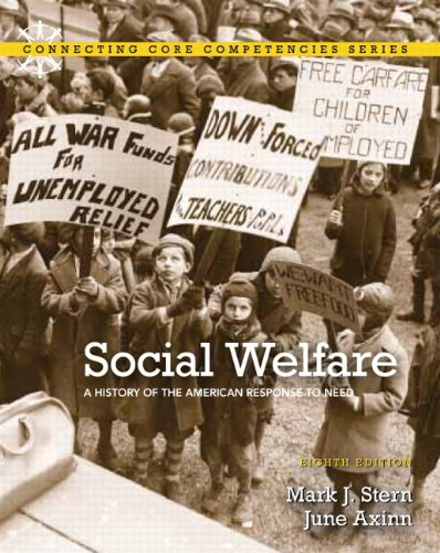 Social Welfare A History of the American Response to Need 8th 2012 edition cover