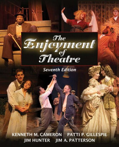Enjoyment of Theatre  7th 2008 9780205500239 Front Cover
