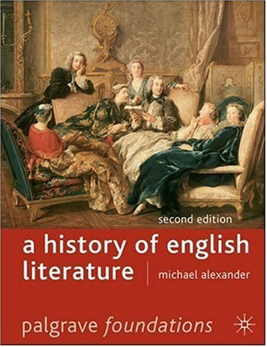 History of English Literature  2nd 2007 (Revised) 9780230007239 Front Cover