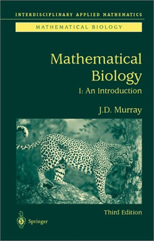 Mathematical Biology An Introduction 3rd 2002 (Revised) edition cover