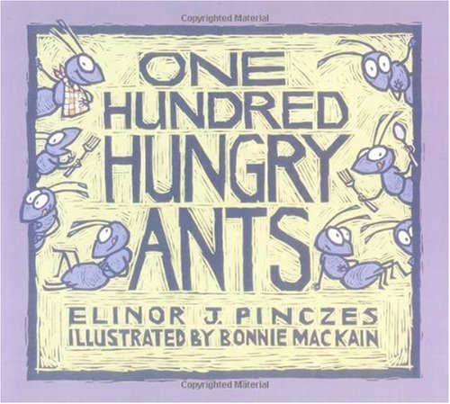 One Hundred Hungry Ants   1999 edition cover