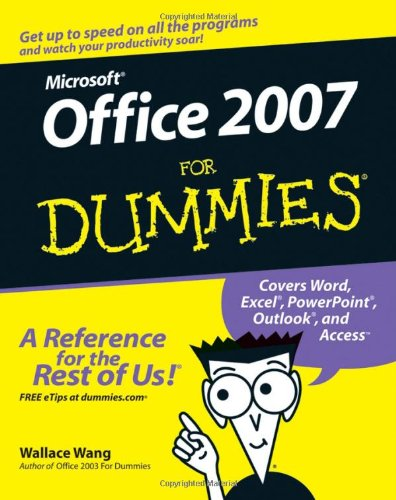Office 2007 for Dummies   2007 edition cover