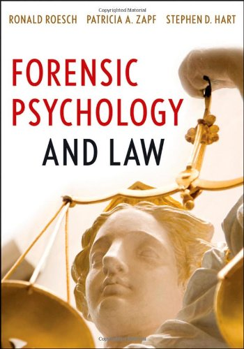 Forensic Psychology and Law   2010 edition cover