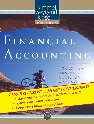 Financial Accounting Tools for Business Decision Making, 5E Binder Ready Version  2009 edition cover