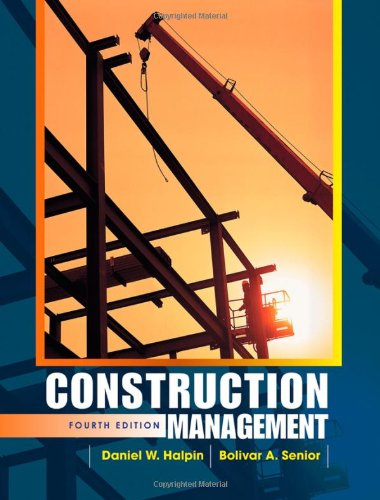 Construction Management  4th 2011 edition cover