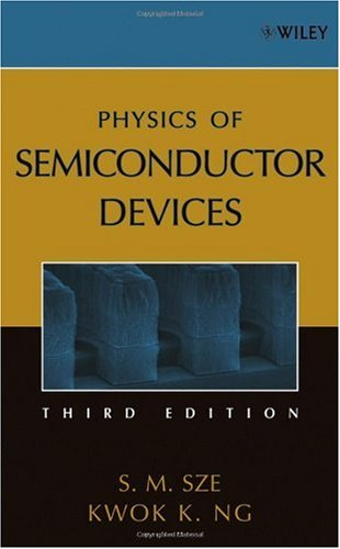 Physics of Semiconductor Devices  3rd 2007 (Revised) edition cover