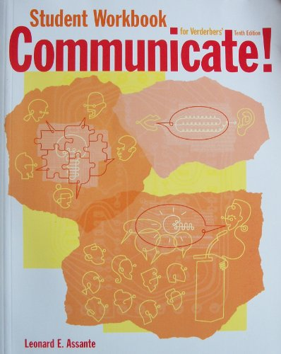 Stdt Wb Communicate!  10th 2002 9780534561239 Front Cover