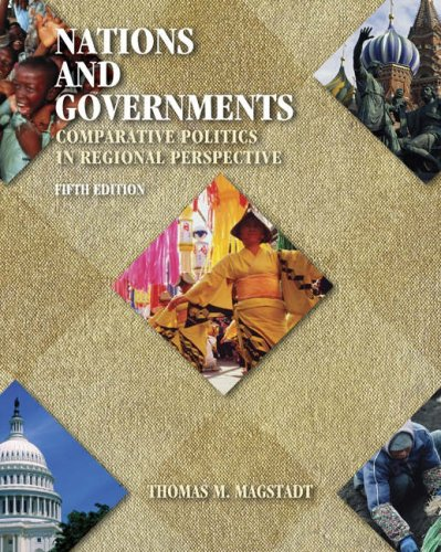 Nations and Government Comparative Politics in Regional Perspective 5th 2005 (Revised) 9780534631239 Front Cover