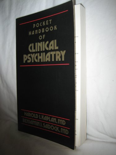 Pocket Handbook of Clinical Psychiatry 1st 9780683045239 Front Cover