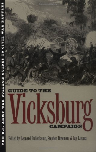 U. S. Army War College Guide to the Vicksburg Campaign   1998 edition cover