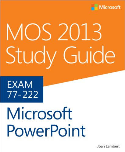 Microsoft PowerPoint Exam 77-422  2014 edition cover
