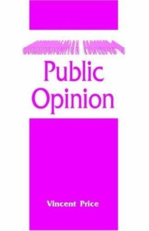 Public Opinion   1999 edition cover