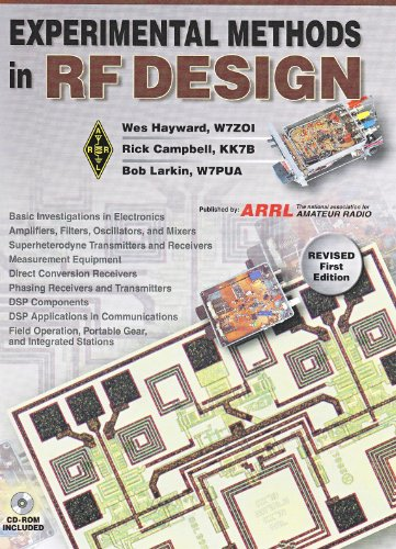 Experimental Methods in RF Design   2013 9780872599239 Front Cover