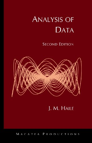 Analysis of Data 2nd edition cover