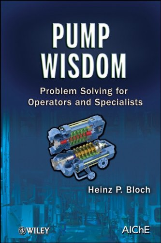 Pump Wisdom Problem Solving for Operators and Specialists  2011 edition cover