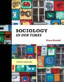 Sociology in Our Times:   2014 edition cover