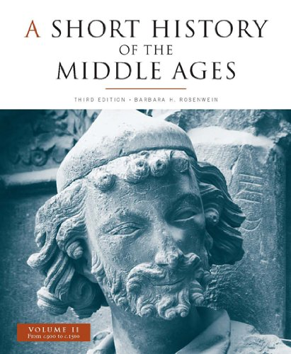 Short History of the Middle Ages from C900-C1500  3rd 2009 (Revised) edition cover