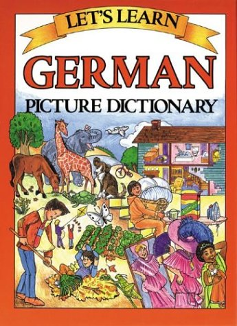 Let's Learn German Dictionary   2003 9780071408240 Front Cover