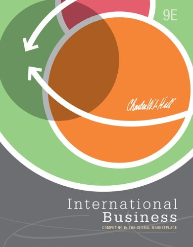 International Business  9th 2013 9780078029240 Front Cover
