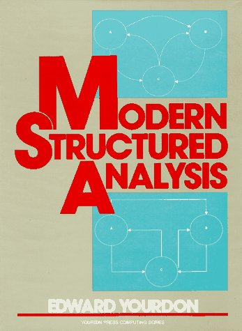 Modern Structured Analysis  1st 1989 edition cover