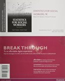 Statistics for Social Workers, Pearson Etext Access Card:   2014 edition cover