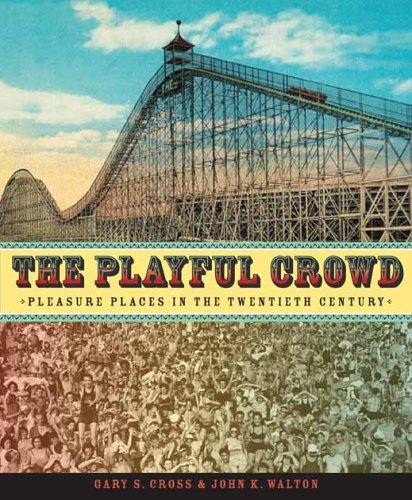 Playful Crowd Pleasure Places in the Twentieth Century  2005 9780231127240 Front Cover