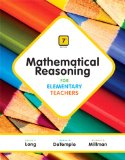 Mathematical Reasoning for Elementary Teachers Plus NEW MyMathLab with Pearson EText -- Access Card Package  7th 2015 edition cover