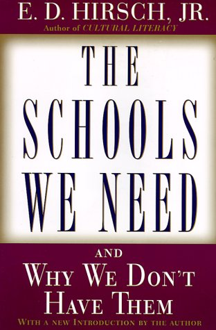 Schools We Need And Why We Don't Have Them  1999 edition cover