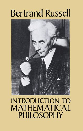 Introduction to Mathematical Philosophy   1993 (Reprint) edition cover