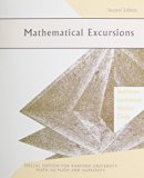 Math Excursions, Second Edition, Custom Publication  2nd 2007 9780618809240 Front Cover