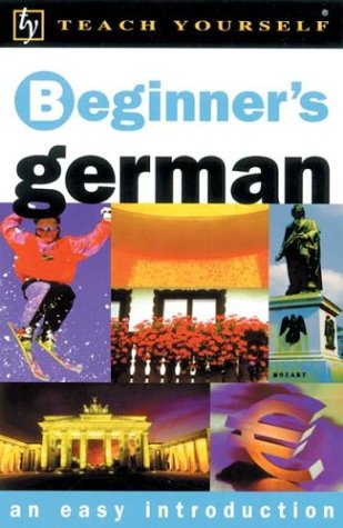 Beginner's German  2nd 2002 9780658016240 Front Cover
