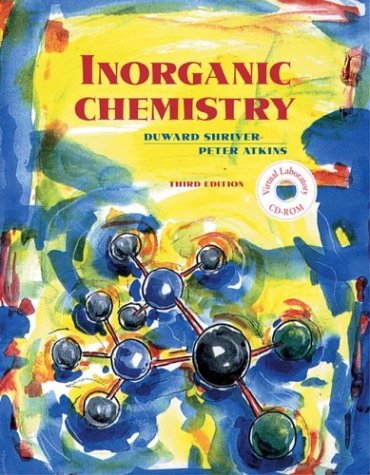 Inorganic Chemistry 3rd 1999 edition cover