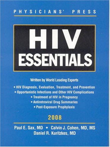 HIV Essentials  2nd 2008 9780763761240 Front Cover